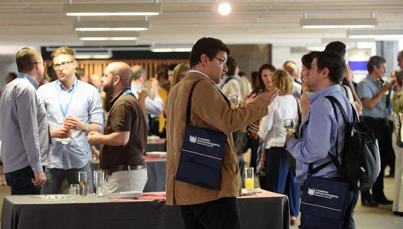 Networking en la Comida del III Congreso Edificios Inteligentes, junio 2017