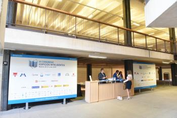 Carteleria Acceso 2 - 3 Congreso Edificios Inteligentes