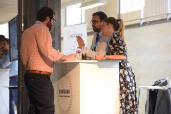 Comida Networking Samsung 1 - 3 Congreso Edificios Inteligentes
