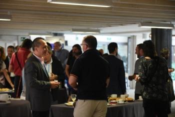 Cafe 1 Networking 2 - 3 Congreso Edificios Inteligentes