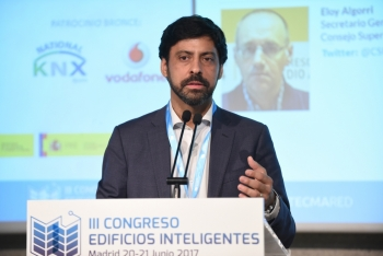 Inaguracion Franciso Javier Martin 2 - 3 Congreso Edificios Inteligentes