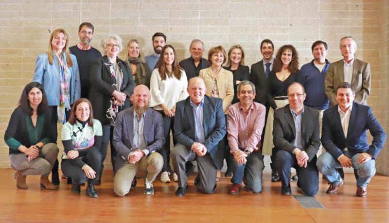 Foto de familia segunda reunión del Comité Técnico del V Congreso Edificios Inteligentes