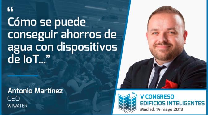 Entrevista a Antonio Martínez de WiWater