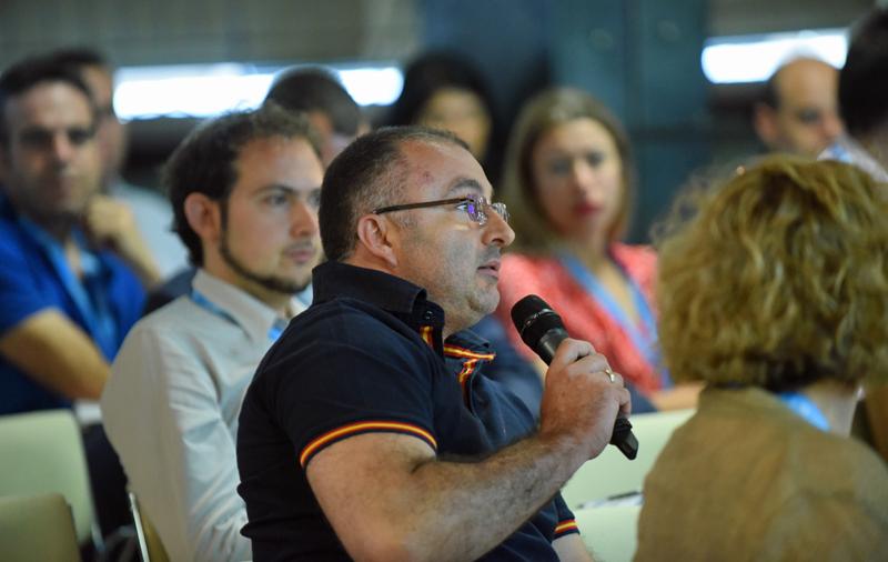 Interacción con el Público en el III Congreso Edificios Inteligentes